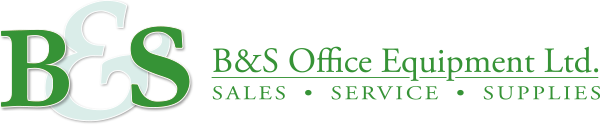 B&S Office Equipment Logo